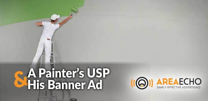 A painter's USP and his Banner Ad