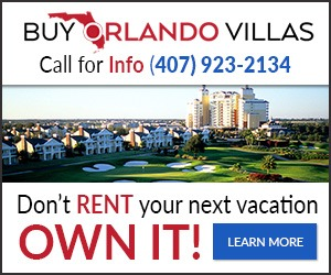Buy Orlando Villas - Banner Ad By AreaEcho